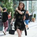 Anna Kendrick – Leaving her hotel in New York