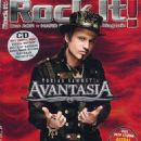 Tobias Sammet - Rock It Magazine Cover [Germany] (April 2019)