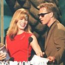 Sandra Bullock and Val Kilmer At The 1995 MTV Movie Awards - 454 x 378