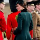 Kate Middleton – 2017 Annual Irish Guards St Patrick's Day Parade in London - 454 x 1006