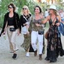 Lisa Rinna and Kyle Richards – 2018 Coachella Festival in Indio - 454 x 303