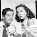 Hedy Lamarr and Robert Cummings