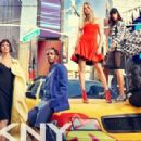 Cara Delevingne  Jourdan Dunn, Eliza Cummings & ASAP Rocky for DKNY 2014