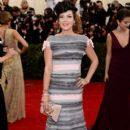 Lily Allen: Red Carpet Arrivals at the Met Gala 2014