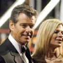 Pierce and Charlotte Brosnan at the red carpet - 454 x 312