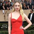 Sophie Turner- January 29, 2017- 23rd Annual Screen Actors Guild Awards - Arrivals - 454 x 599