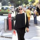Olivia Palermo out for a walk in New York City