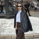 Elodie Bouchez – Miu Miu Fashion Show in Paris