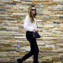 Elizabeth Olsen – After a Session at Shape House Urban Sweat Lodge in LA 11/14/2017