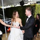 Justin Timberlake and Jessica Biel : 70th Emmy Awards - 400 x 600