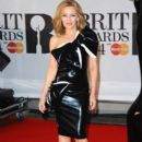 Kylie Minogue wears William Wilde - Brit Awards 2014