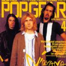 Kurt Cobain, Krist Novoselic, David Grohl - Pop Gear Magazine Cover [Japan] (April 1992)