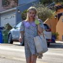 Emma Roberts – Spotted after visiting a friend in Los Angeles