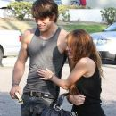 Random photos of Miley Cyrus, Justin Gaston - 381 x 500