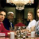 Ben Stiller, Danny Glover, Gwyneth Paltrow and Anjelica Huston in Touchstone's The Royal Tenenbaums - 2001