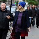 Fearne Cotton: walks to work in London