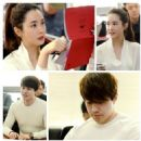 Lee Dong Wook, Lee Da Hae and Others Get Together for 'Hotel King' Script Reading - 454 x 454