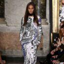 Joan Smalls Emilio Pucci Fashion Show In Milan