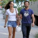 Alessandra Ambrosio and Jamie Mazur Explore NYC