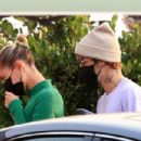 Hailey Bieber and Justin Bieber – Out for a dinner date at Nobu in Malibu