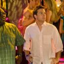 Shane (Faizon Love) with Jason (Jason Bateman) in Peter Billingsley comedy 'Couples Retreat.'