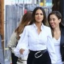 Eiza Gonzalez – Arriving at 'Jimmy Kimmel Live' in Hollywood