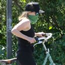 Reese Witherspoon – Seen on a bike ride in Malibu