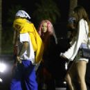 Iggy Azalea and Tyga – 2018 Coachella Festival in Indio