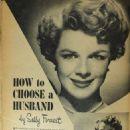 Sally Forrest - Filmland Magazine Pictorial [United States] (July 1951) - 454 x 676