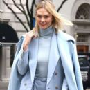 Karlie Kloss – Leaving Ralph Lauren Show in New York - 454 x 615