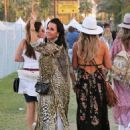 Lisa Rinna and Kyle Richards – 2018 Coachella Festival in Indio
