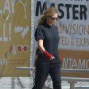 Julia Roberts – Out at skate park in Malibu