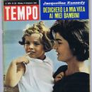 Jacqueline Kennedy - Tempo Magazine Cover [Italy] (14 December 1963)