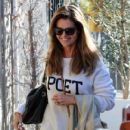 Maria Shriver spends time out and about in Brentwood, California on January 08, 2016