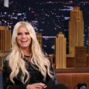 Jessica Simpson The Tonight Show Starring Jimmy Fallon In Nyc