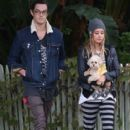 Ashley Tisdale: out for a Halloween stroll in Toluca Lake