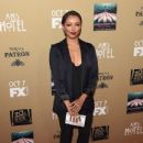 Actress Kat Graham attends the premiere screening of FX's 'American Horror Story: Hotel' at Regal Cinemas L.A. Live on October 3, 2015 in Los Angeles, California