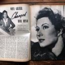 Greer Garson - Movie Stars Magazine Pictorial [United States] (October 1943) - 454 x 340