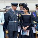 Prince Harry Windsor and Meghan Markle Attend Events To Mark The Centenary Of The RAF - 397 x 600