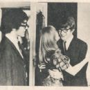 John Dunbar, Marianne Faithfull and Peter Asher - 454 x 342