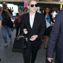 Lea Seydoux – Arriving at Nice Airport