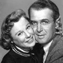 James Stewart and June Allyson