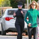 Reese Witherspoon in Tights – Jogging in Brentwood