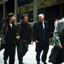 Debi Mazar, Al Pacino, Philip Baker Hall and Christopher Plummer in The Insider - 11/99 - 350 x 235