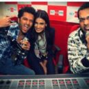 Ritesh Deshmukh and Genelia D'Souza Promoting Tere Naal Love Hogaya 2012