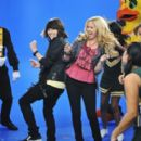 Tiffany Thornton and Mitchel Musso