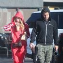 Ashley Benson in Red Tracksuit – Out in LA - 454 x 681
