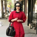 Dita Von Teese - Out And About In Manhattan, 23.04.2008.