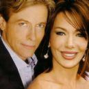 Jack Wagner and Hunter Tylo
