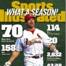 Mark McGwire - Sports Illustrated Magazine Cover [United States] (5 October 1998)